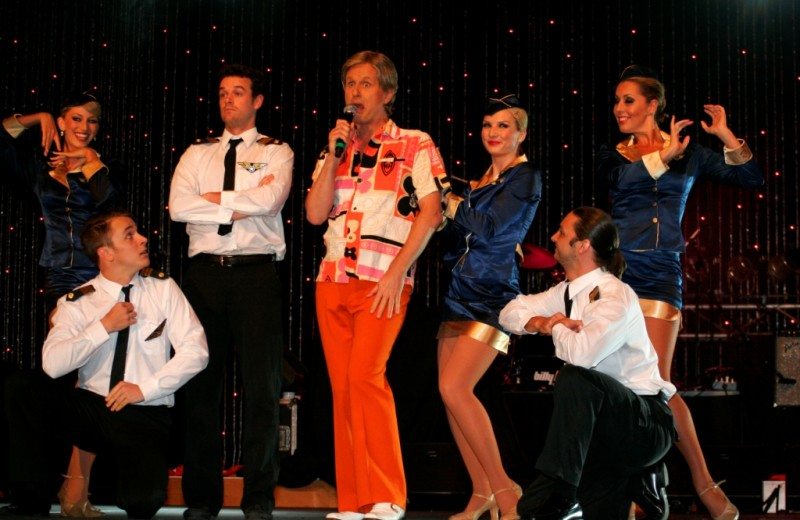 Popset Dancers & Bob Downe 1